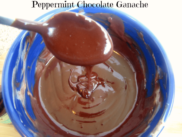 Easy Peppermint Chocolate Ganache by Clarks Condensed (3 ingredients!)