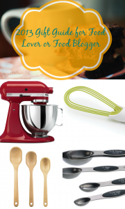 Gift Guide for a Blogger Blogger or Food Lover