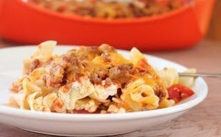 lighter sour cream noodle bake1 9 Tips For Taking a New Mom Meals