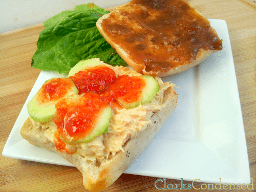 Thai Peanut Chicken Salad Sandwich by Clarks Condensed