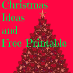 12 Days of Christmas Ideas and Printable