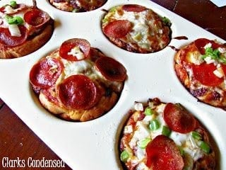Copycat Pizza Hut Sliders by Clarks Condensed