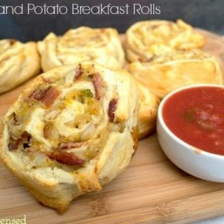 Bacon and Potato Breakfast Roll