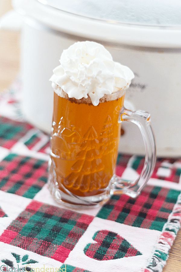 Copycat {Crock-pot} Starbucks Caramel Apple Cider by Clarks Condensed