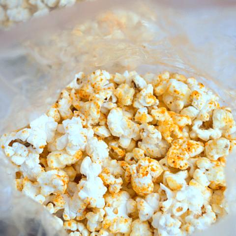 Chili Cheddar Popcorn