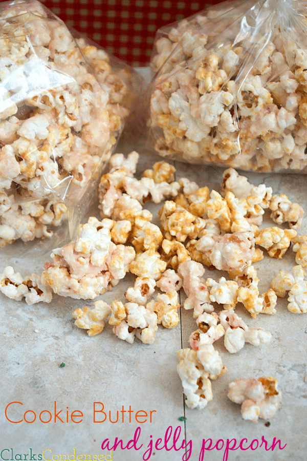 Cookie Butter and Jelly Popcorn by Clarks Condensed