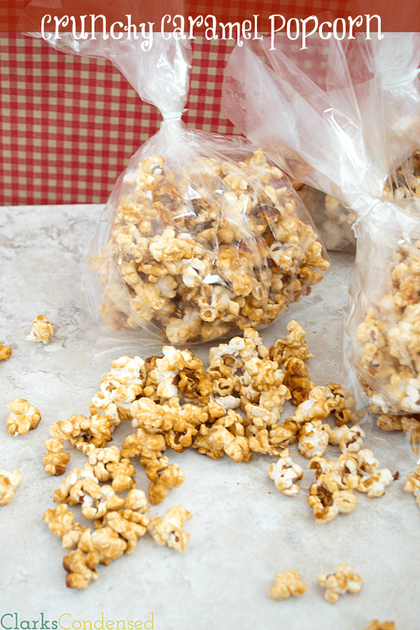 Crunchy Caramel Popcorn by Clarks Condensed