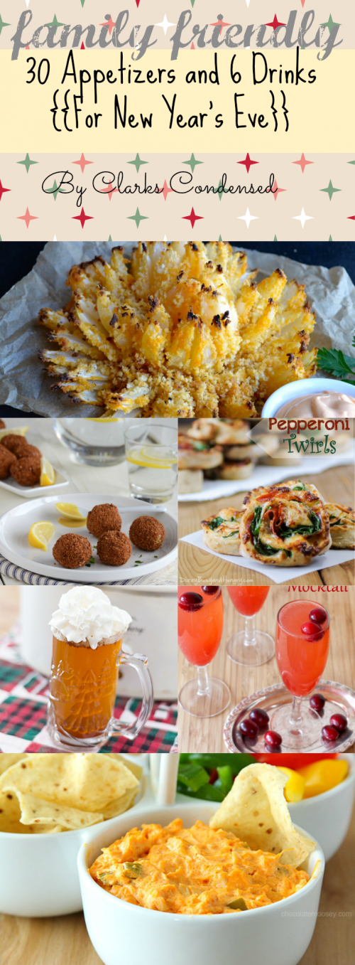 36+ Family Friendly Appetizers and Drink Ideas for New ...