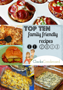 Top 10 Recipes from Clarks Condensed 2013