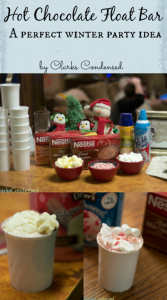 Hot Chocolate Float Bar