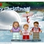 LEGO Minifigure Christmas Card