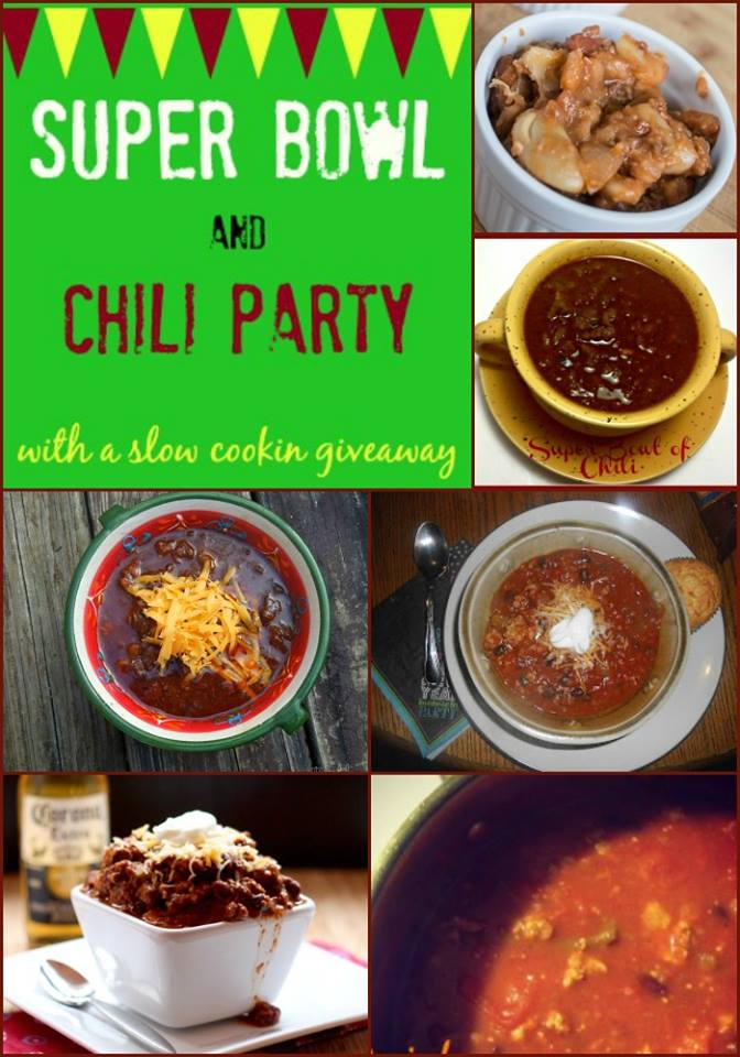 Super Bowl and Chili Party
