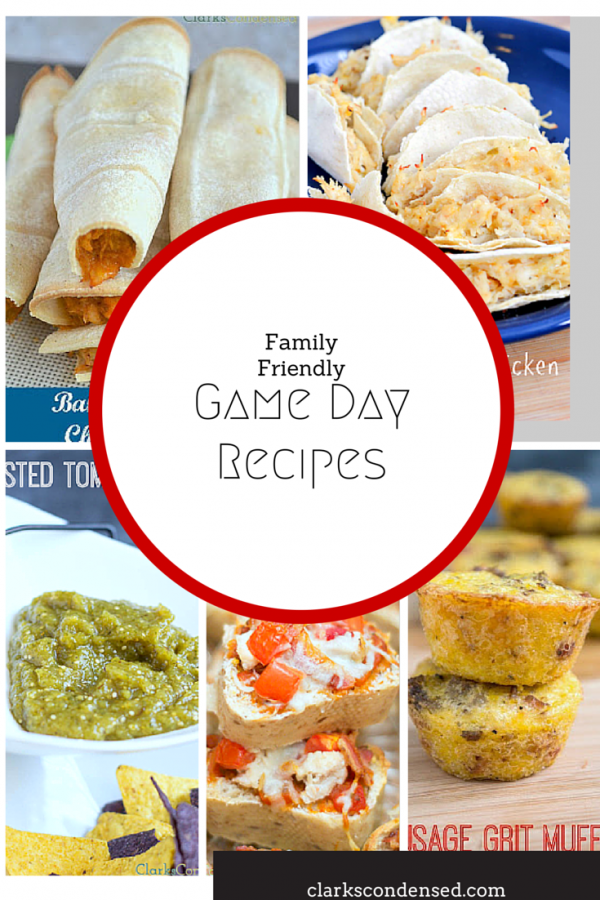 Family Friendly Game Day Appetizers