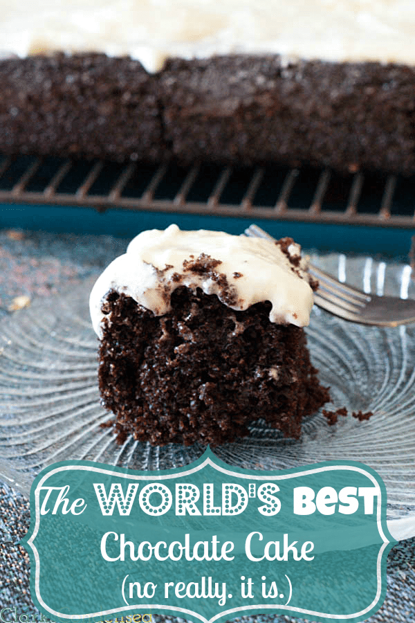 The World's Best Chocolate Cake Recipe