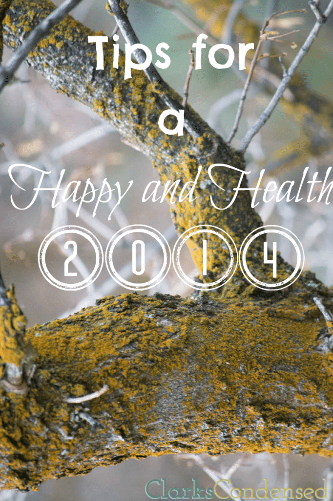 Tips for a Happy, Healthy New Year