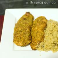 Chipotle Pistachio Crusted Tilapia (WW Points Plus Recipe)