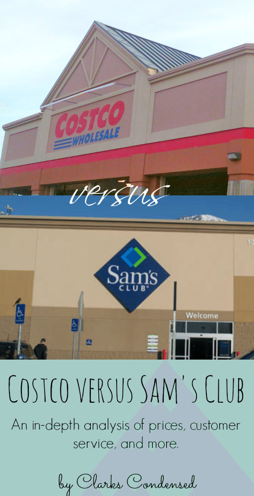 costco versus sams club