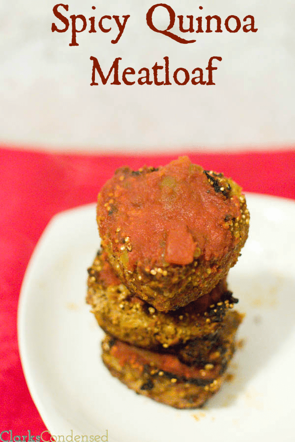 Spicy Quinoa Meatloaf and Skinny Strawberry Shortcake