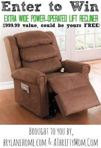 Power Lift Chair Giveaway,
