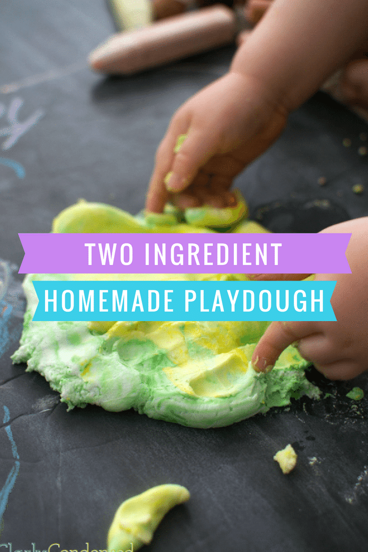 homemade playdough / playdough recipes / how to make playdough / playdough with cornstarch / soft playdough / toddler