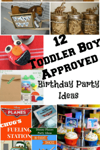 12 Toddler Boy Party Ideas