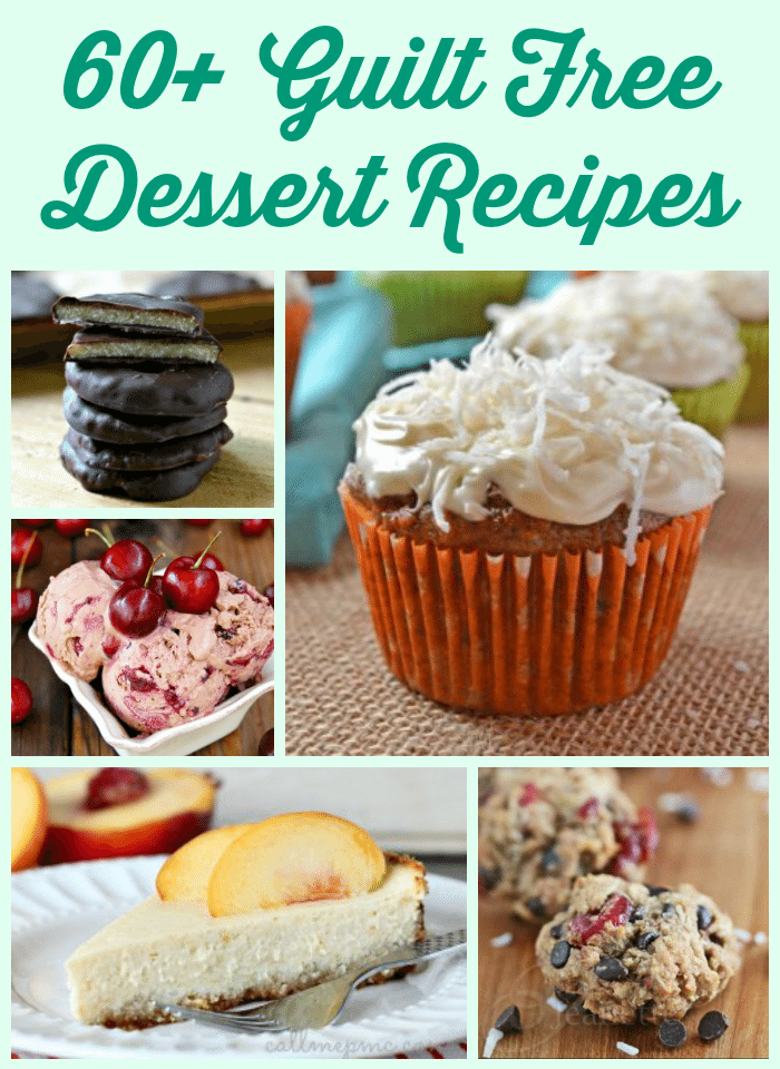 60 guilt free dessert recipes