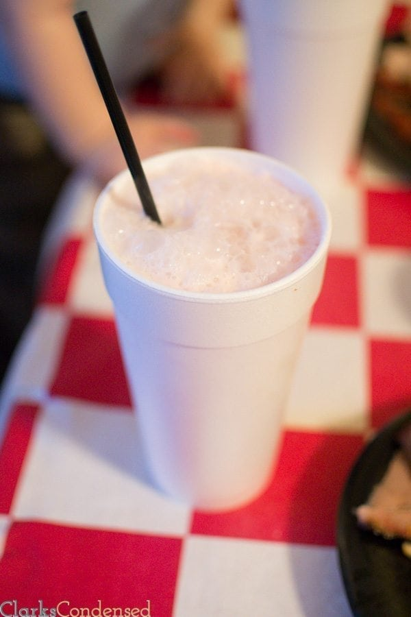 Five Star BBQ Italian Soda