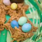 Coconut and Butterscotch Bird's Nest Recipe {{Dessert and Activity Idea}}