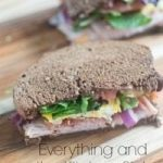 Everything and The Kitchen Sink Gourmet Sandwich