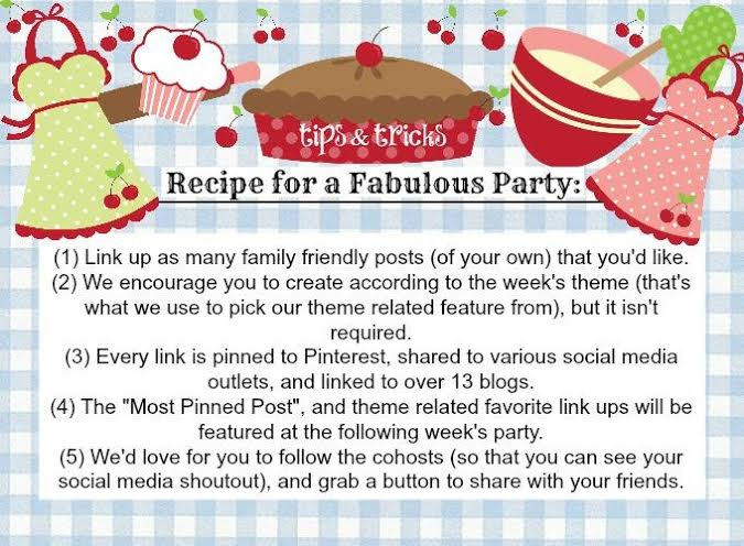 Tips and Tricks Link Up Party
