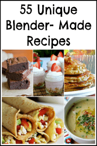 55 Unique Recipes Made With a Blender
