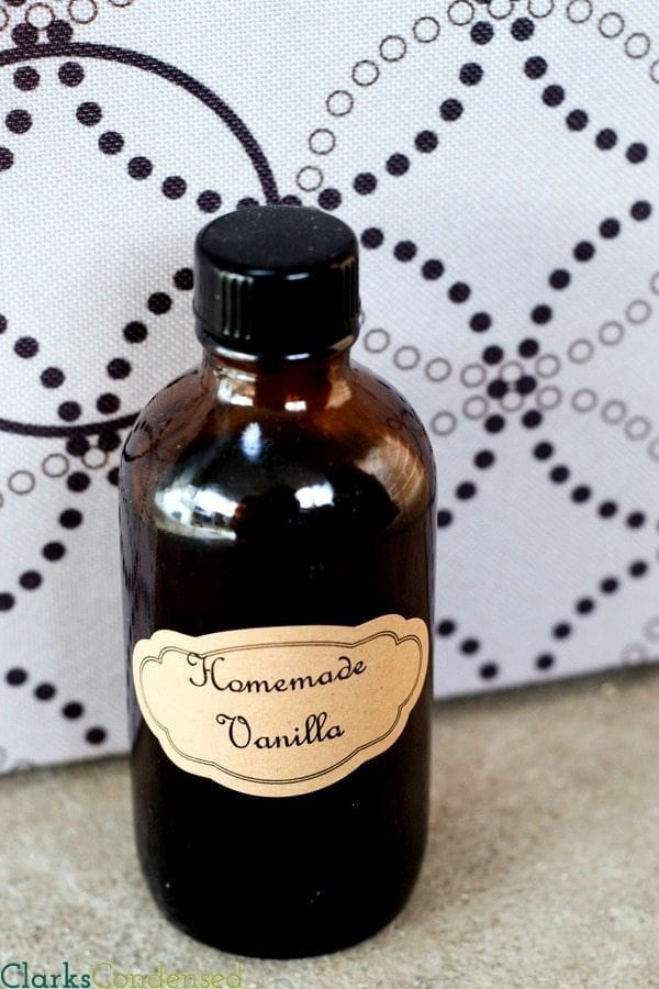 Nothing quite compares to the flavor of homemade vanilla -- and this is the easiest way to make it! No need for extra bottles or containers -- all you need is vanilla beans and a bottle of rum.