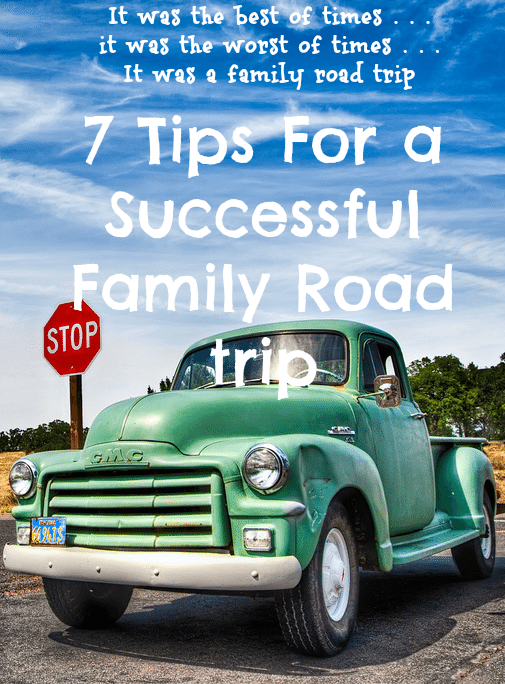 Some of my favorite memories growing up are from family vacations and road trips (though there are some not as fun memories, too ;-) Here are 7 tips for a successful family road trip!