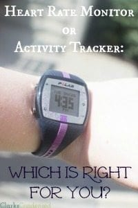 Heart Rate Monitor or Activity Tracker — Which One Is Right For YOU?