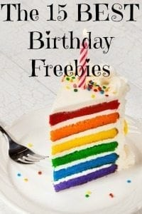 The 15 Best Birthday Freebies To Sign Up For