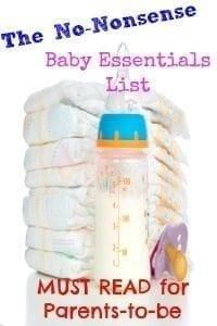 20 Baby Essentials: The No-Nonsense New Parent Checklist