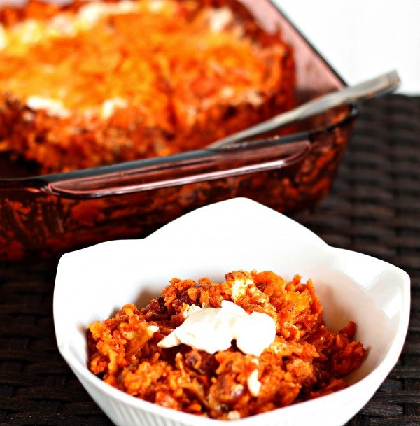 Doirtos Enchilada Casserole Super Easy To Throw Together And Absolutely Delicious