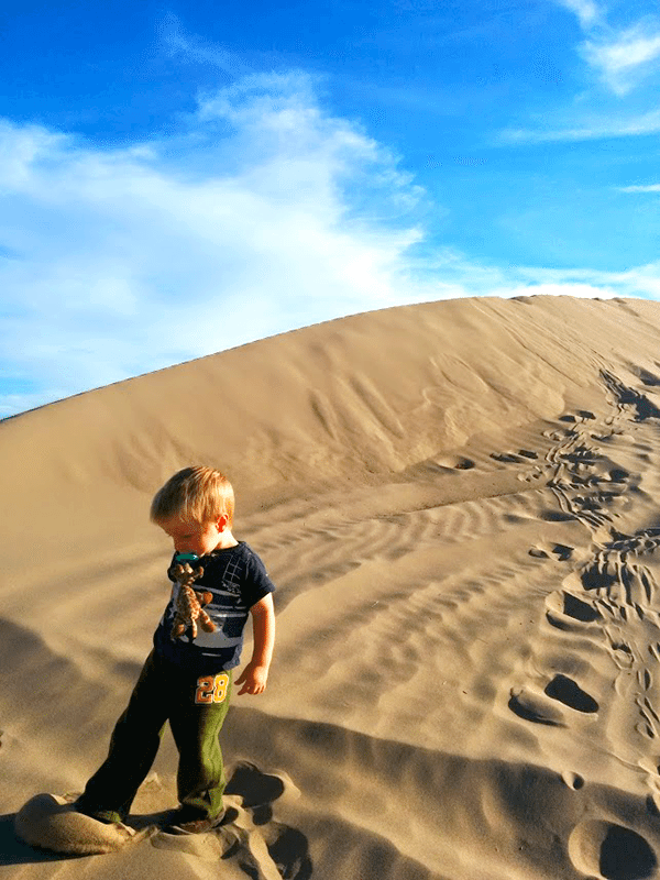 Jack on the Dunes