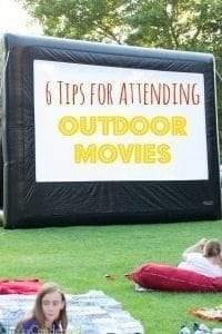 6 Tips for Attending an Outdoor Movie