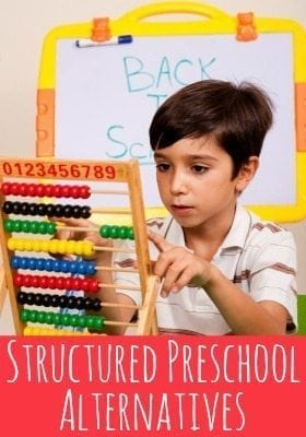 If you don't want to pay for a traditional preschool, here are some structured alternatives.
