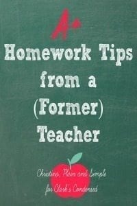Must-Know Homework Tips From a {{Former}} Teacher