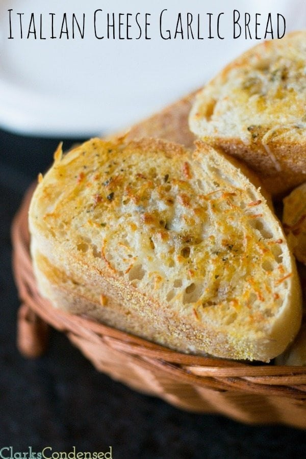 Easy Italian Cheese Bread