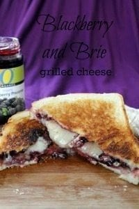 Brie and Blackberry Sandwich