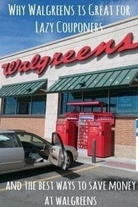 Ways to Save Money at Walgreens {{And Why It's Great for Lazy Couponers)