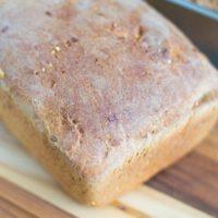 Homemade Wheat Sandwich Bread