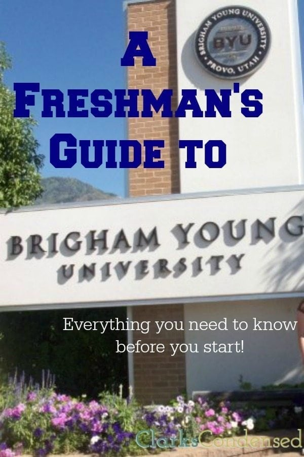 A Freshman's Guide to BYU: Part Two