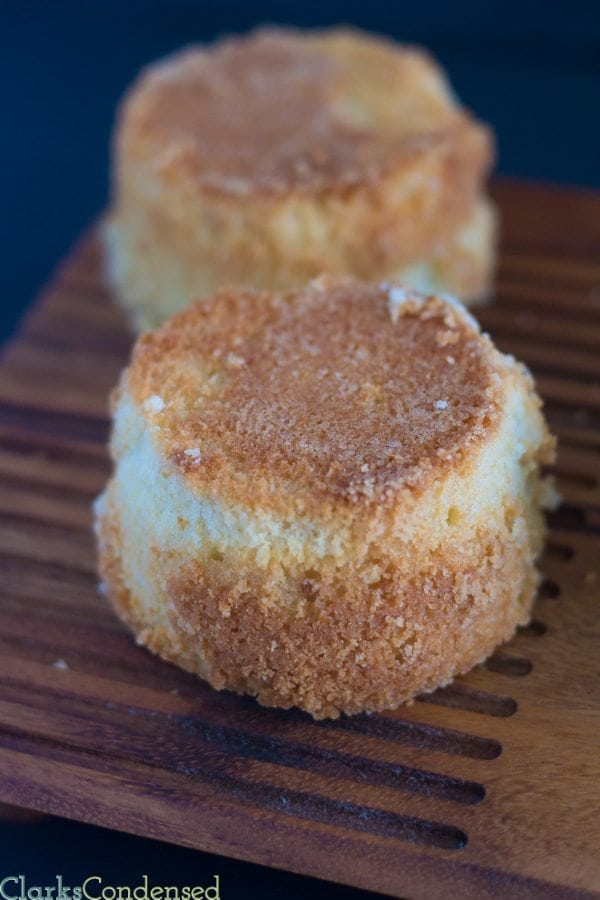 Easy warm butter cake