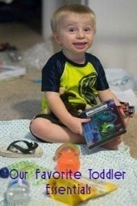 Our Toddler Essentials List