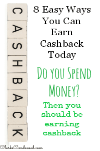 7 Easy Ways to Earn Cash back