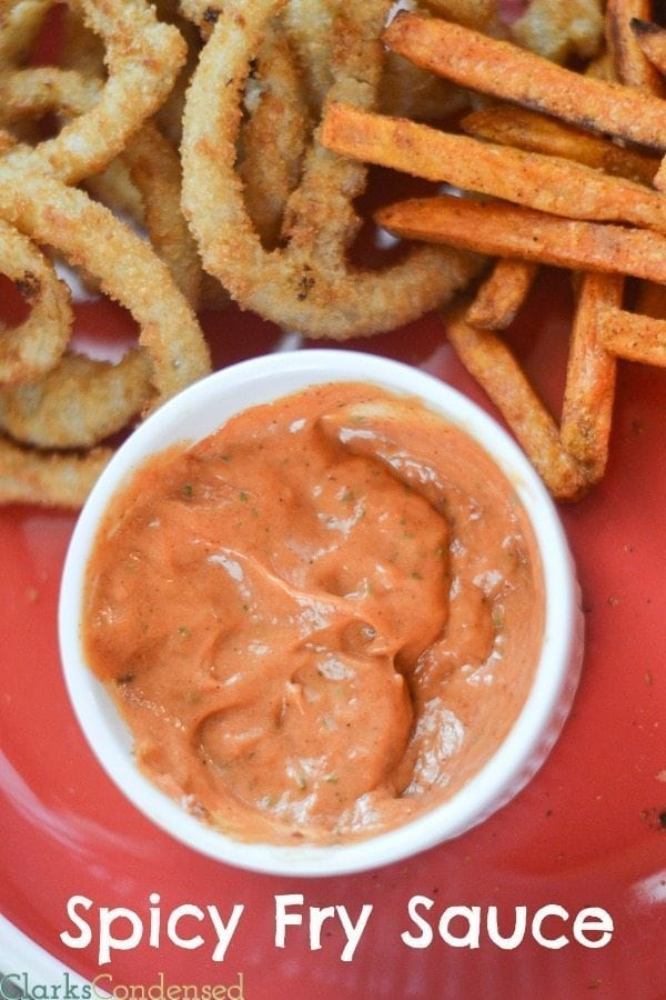 Spicy Fry Sauce Recipe